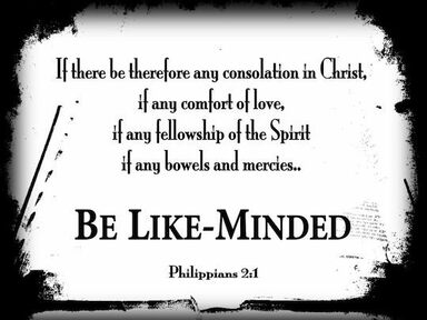 Phillipians 2:1-4  June 2,2019