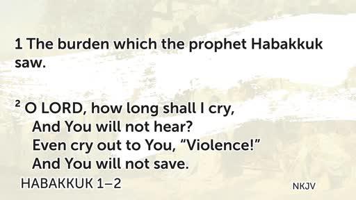 Habakkuk 1-2