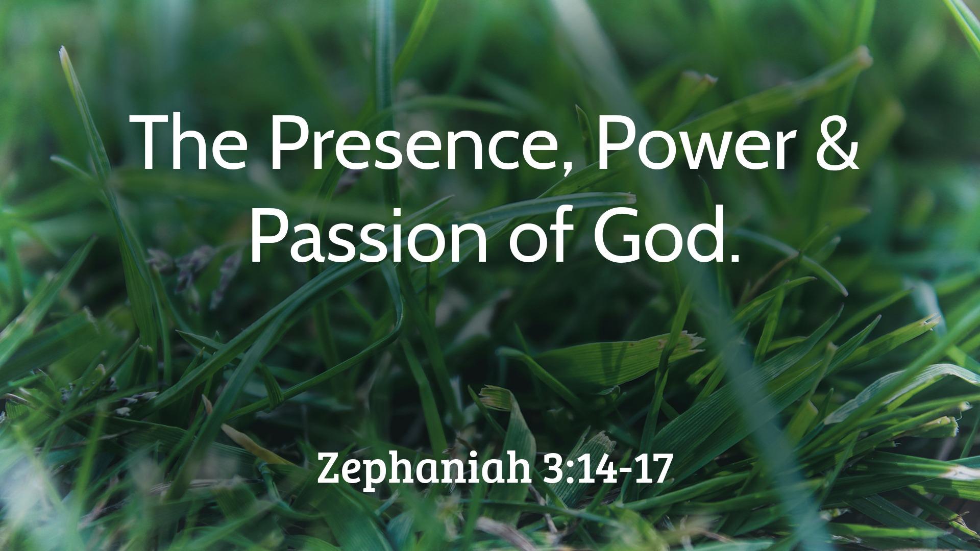 God's Presence, Power & Passion | Stevenston High Kirk