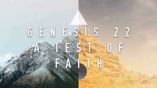 A Test of Faith