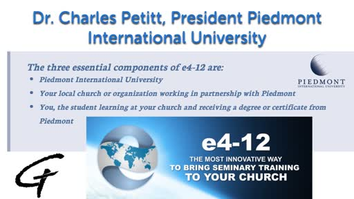 President Piedmont International University