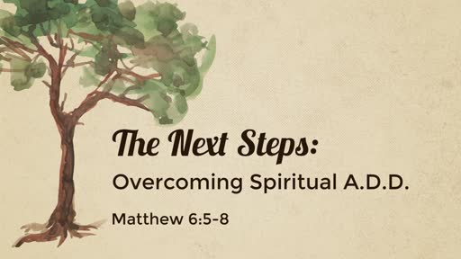 The Next Steps: Overcoming Spiritual A.D.D.