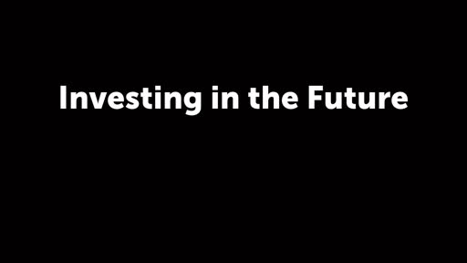 Investing in the Future