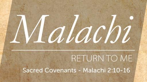 Sunday, June 9 - AM - Jack Caron - Sacred Covenants