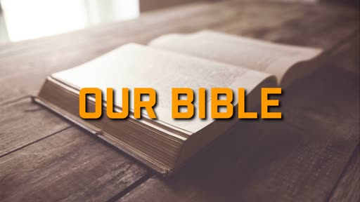 Our Bible - 6/9/2019