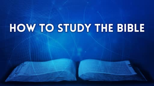 Who can study the Word of God