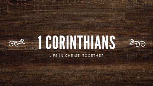 Unity in Christ | 1 Corinthians 1:10–2:16