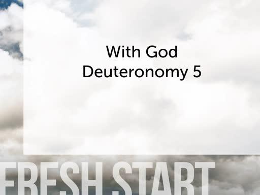 Fresh Start With God