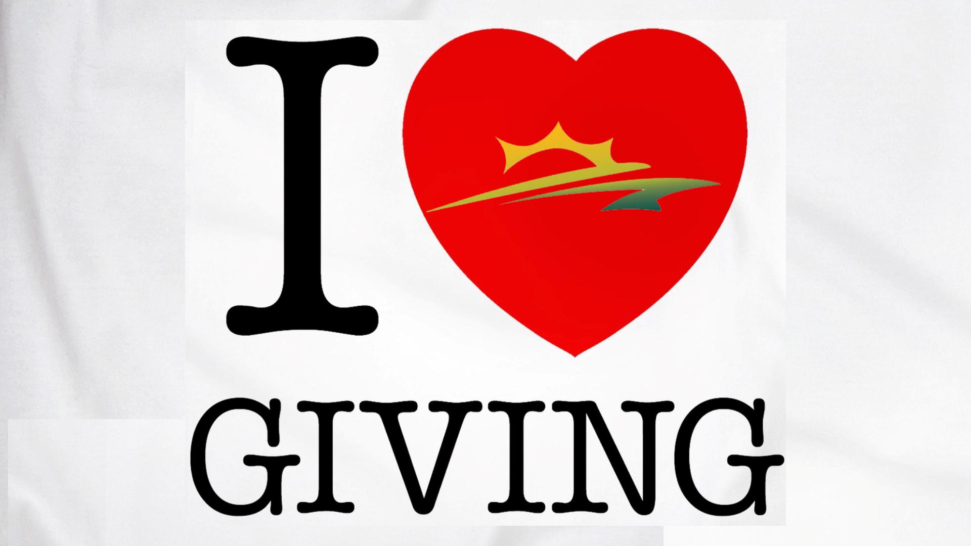 I Love Giving
