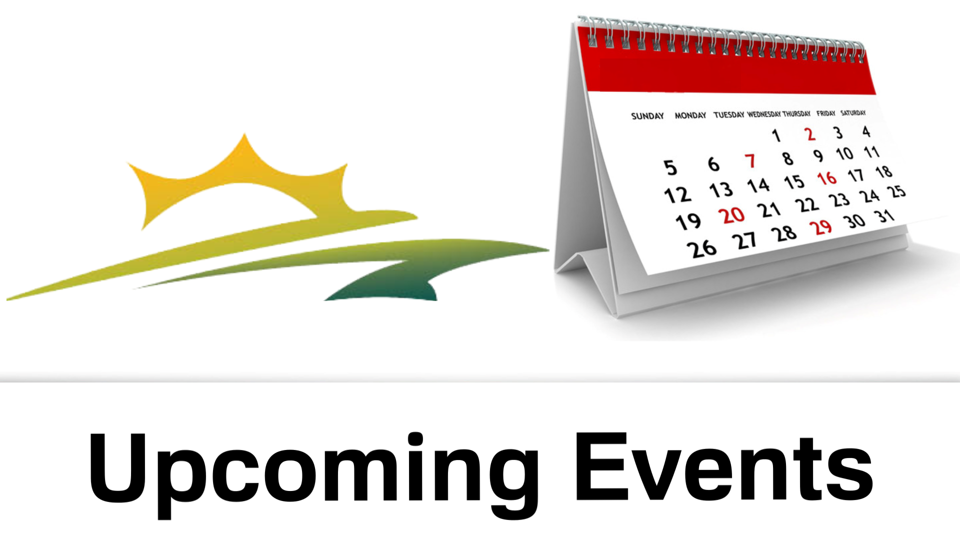 Upcoming Events Web 2