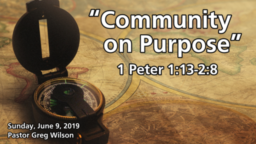 "6 9 19 - ""Community on Purpose"""