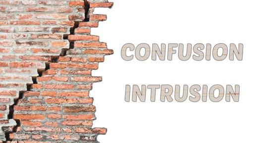 Confusion Intrusion