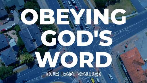 Obeying God's Word