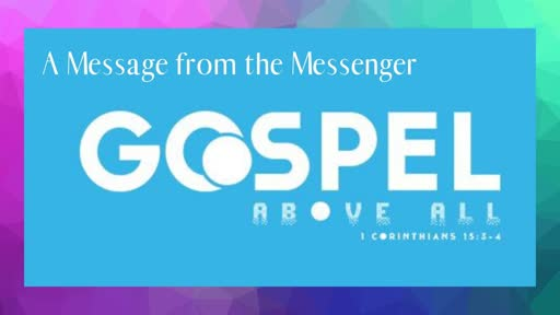 Sunday June 16th: The Gospel Above All - Man Up!