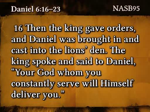6/16/19 The Lions in Daniel's Den Part 4