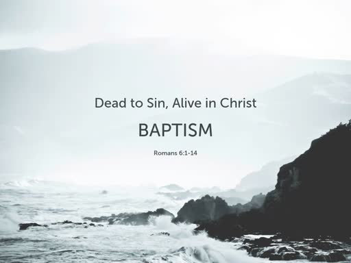 Dead to Sin, Alive in Christ
