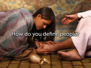 June 16 - Be Followers of Me, How do you define people?