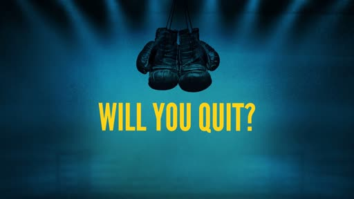 Will you Quit?