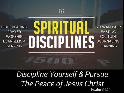 Summer in the Psalms - Spiritual Disciplines