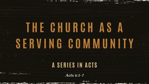 A Serving Community