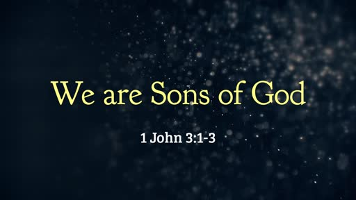 We are Sons of God - 06.16.19 PM