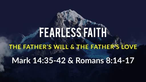 June 16 -  Fearless Faith