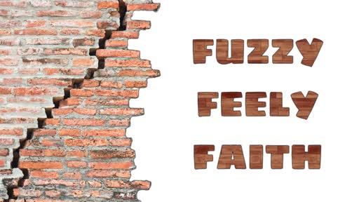 Fuzzy-Feely Faith