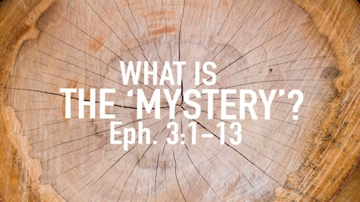 """What is the """"mystery""""?"""