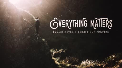 June 23, 2019 - Ecclesiastes 3