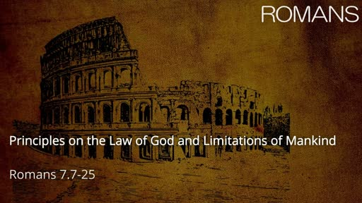 Principles on the Law of God and Limitations of Mankind