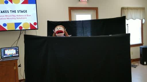 Children's Church kids Puppet show