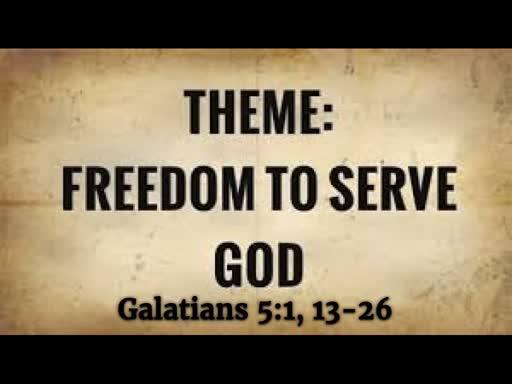 Freedom To Serve