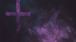 Purple Cross Texture content a PowerPoint image