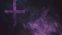 Purple Cross Texture content b PowerPoint image