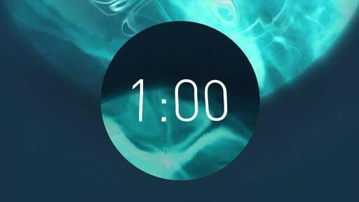 Blue Circle - Countdown 1 min