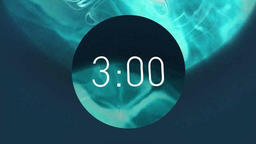 Blue Circle - Countdown 3 min