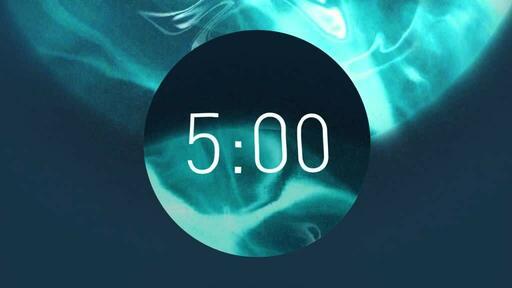 Blue Circle - Countdown 5 min