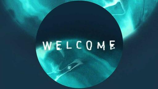 Blue Circle - Welcome