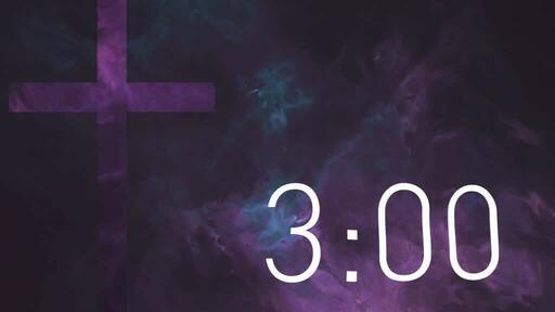 Purple Cross Texture - Countdown 3 min