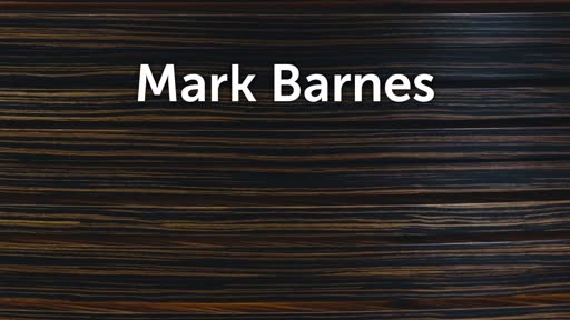 Special Guest: Mark Barnes - A Thriving Church