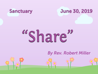 June 30, 2019 - Sanctuary