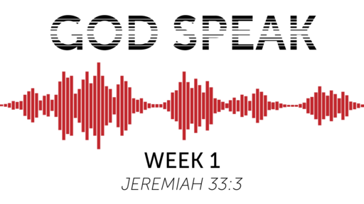 God Speak - Week 2