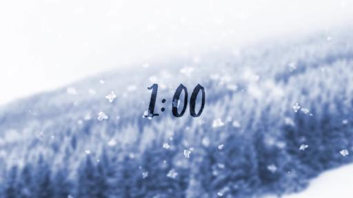 Snowfall - Countdown 1 min