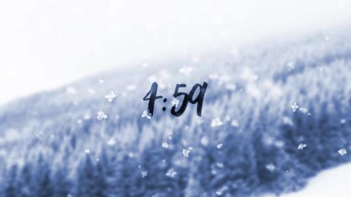 Snowfall - Countdown 5 min