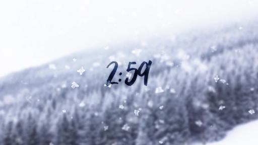 Snowfall - Countdown 3 min
