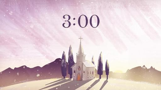 Christmas Dawn - Countdown 3 min