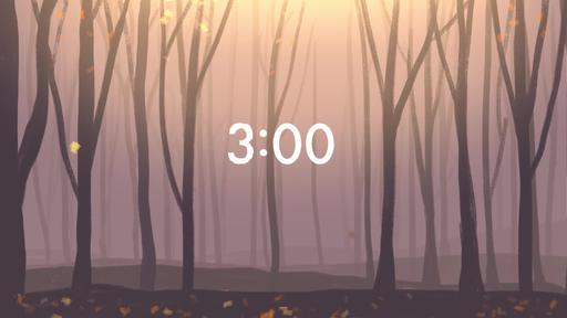 Autumn Forest - Countdown 3 min