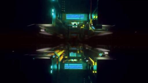 Light Corridor - Content Motion