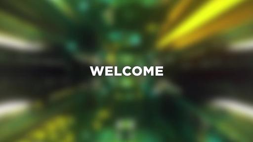 Light Corridor - Welcome