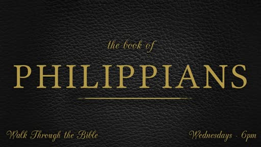 Walk Through the Bible - Philippians 4